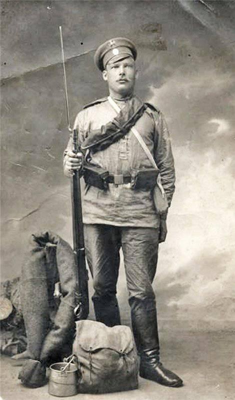 нижний чин 413 резервного Порховского полка