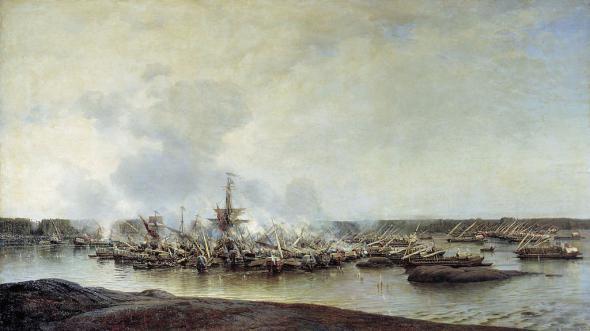 Сражение при Гангуте