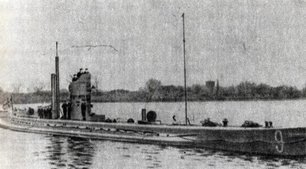 подводные лодки в годы первой мировой войны