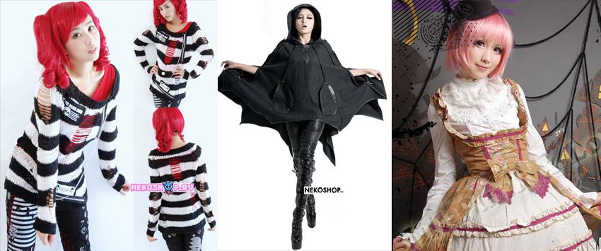 Готическая одежда от Nekoshop