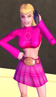 Brawler Barbie