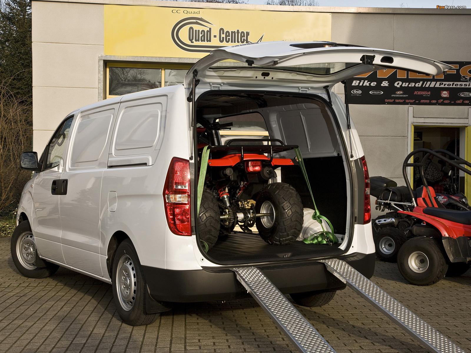 Мостки для закатывания ATV в кузов автомобиля.