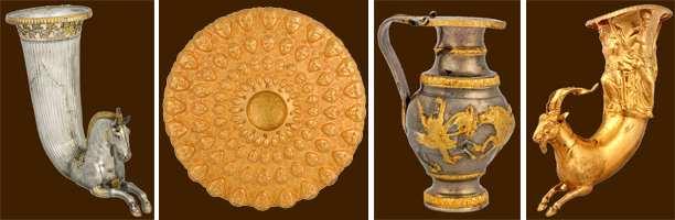 Фракийское золото из Болгарии Ожившие легенды
