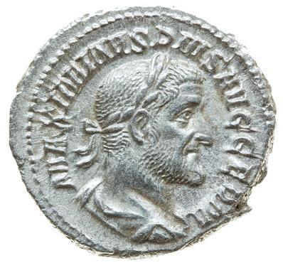 Римская империя, Максимин I Фракиец, 235-238 годы, денарий аверс