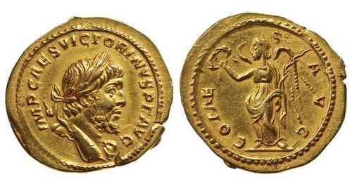 Римская империя, Викторин, 268-271 годы, аурей