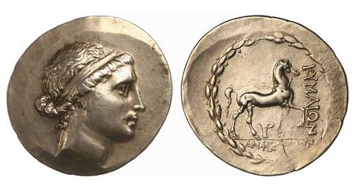 Эолида, Кимы, 190-180 годы до Р.Х., тетрадрахма