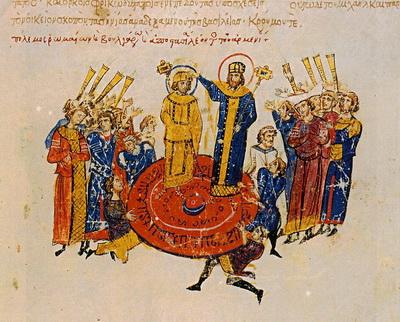 Коронация Михаила I Рангаве 2