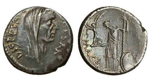 Юлий Цезарь Денарий 2