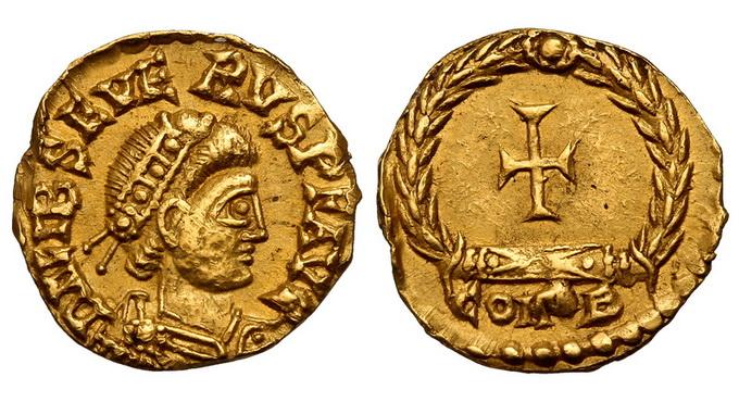 Римская империя, Либий Север, 461-465 годы, тремисс
