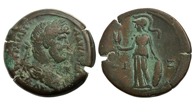 Римская империя, провинция Египет, Адриан, 117-138 годы, АЕ35