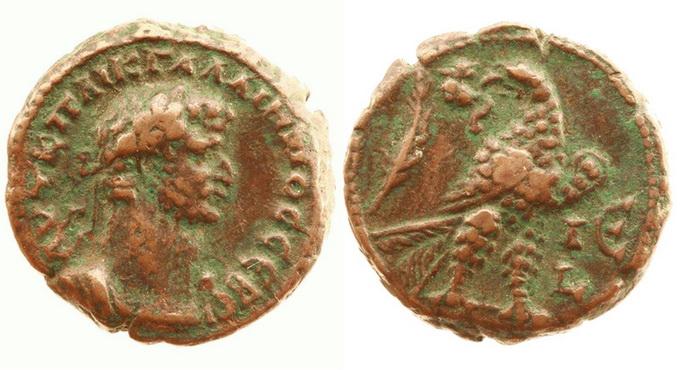 Римская империя, провинция Египет, Галлиен, 253-268 годы, тетрадрахма