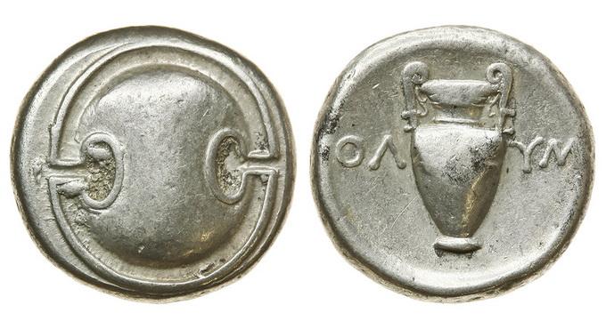 Беотия, Фивы, 395-338 годы до Р.Х., статер