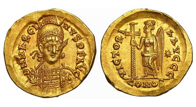Римская империя, Марциан, 450 – 457 годы, солид
