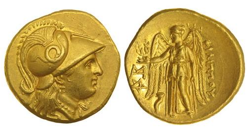 Македонское царство, Филипп III Арридей, 323-316 годы до Р.Х., статер