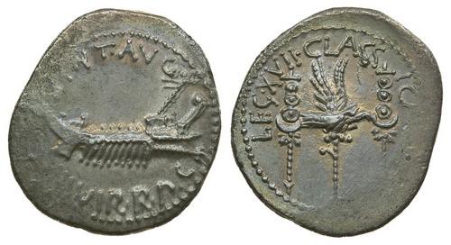 Римская республика, М.Антоний, 43-30 годы до Р.Х., денарий