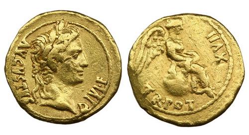 Римская империя, Август, 27 год до Р.Х.-14 год, квинарий