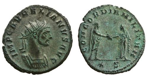 Римская империя, Аврелиан, 270-275 годы, аврелианиан