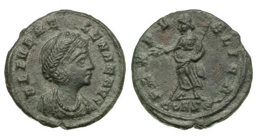 Римская империя, Елена, мать Константина Великого, нуммий