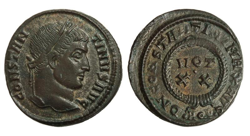 0207 2015 Римская империя, Константин I Великий, 307-337 годы, нуммий