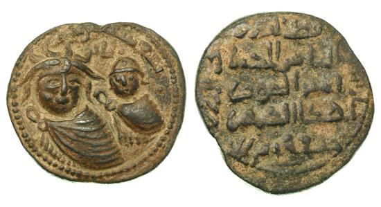 Артукиды Мардина, Иль-Гази II Кутб ад-дин, 1176-1184 годы, дирхем