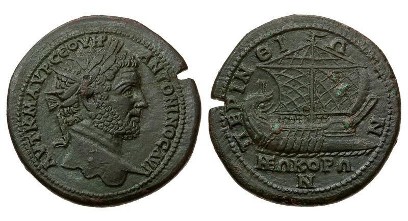 Римская империя, провинция Фракия, Каракалла, 198-217 годы, медальон