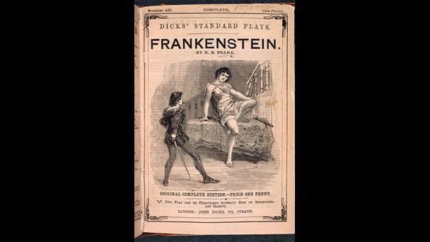 Peake Richard Brinsley Frankenstein C08283 08