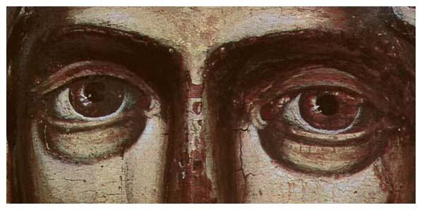 параскева, 18 век, глаза