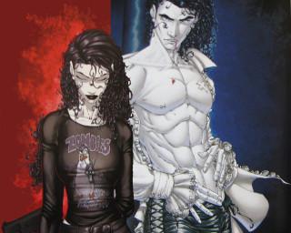 Guilty Pleasures Graphic Novel - Anita and Jean-Claude.
