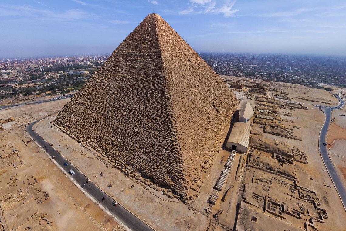Великая пирамида. Гиза. Египет.