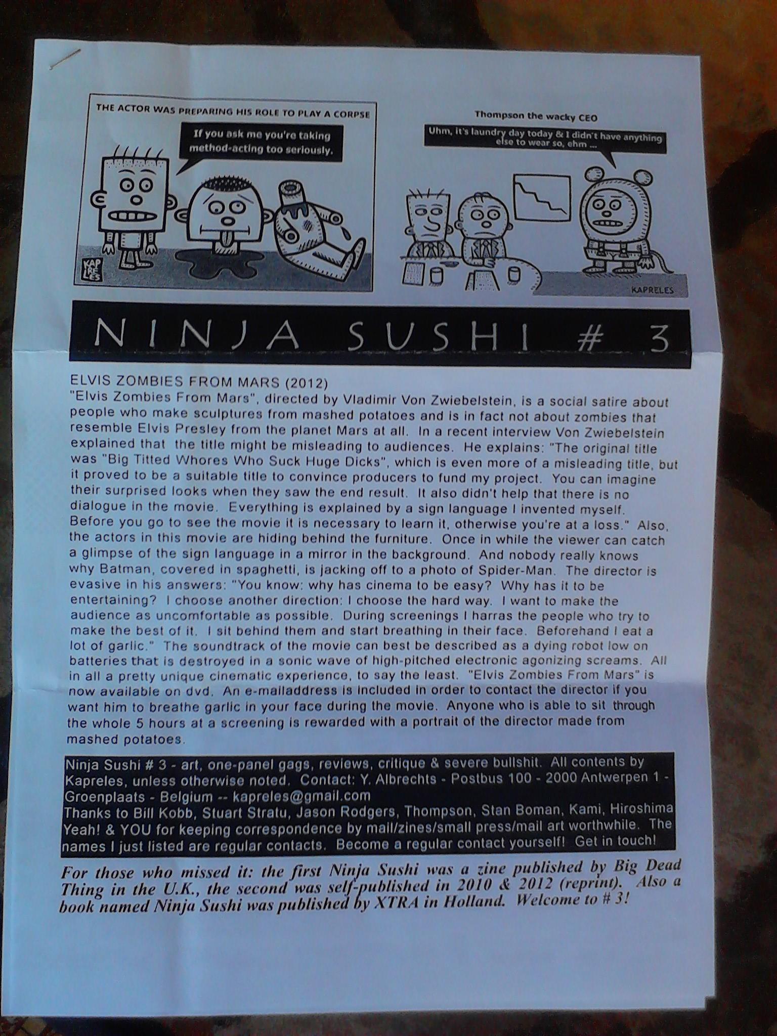 Ninja Sushi 3