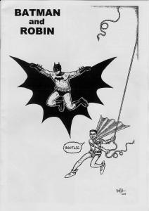 Batman and Robin bootleg cover