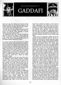 Bizarrism 13 MFD Gaddafi