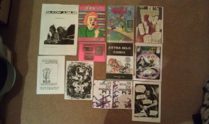 Other Worlds Zine Fair Haul 250514 II
