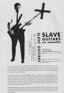 Ssex 3 Slave Guitars