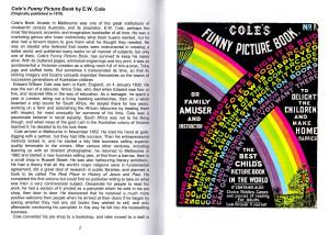 Biblio Curiosa 5 Coles Funny Picture Book