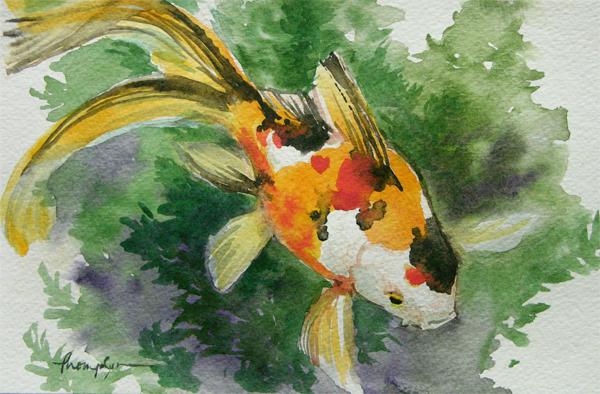 artglass goldfish two web
