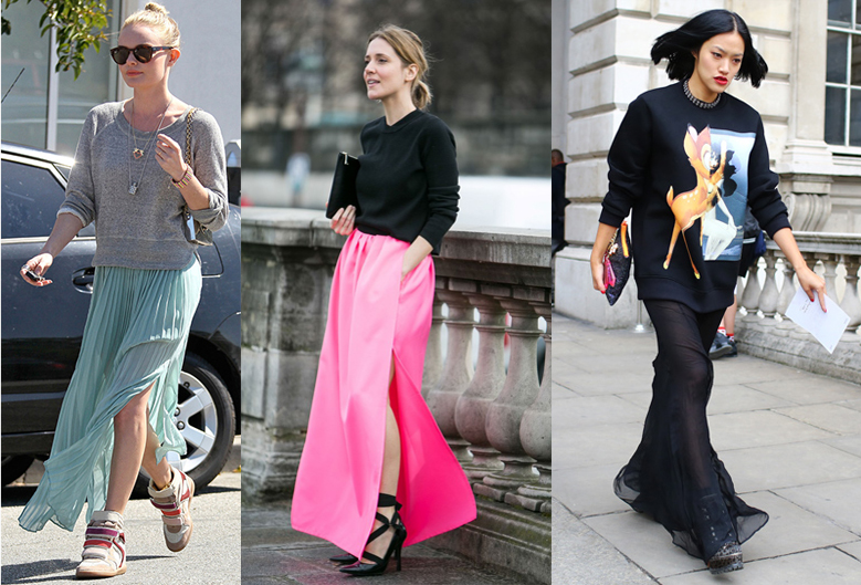 how-to-wear-sweatshirt-with-maxii-skirt