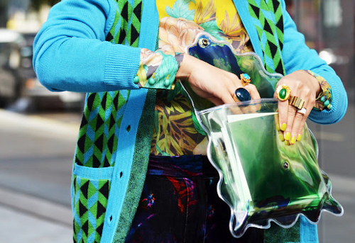 christopher-kane-green-clear-clutch-bag-with-rings