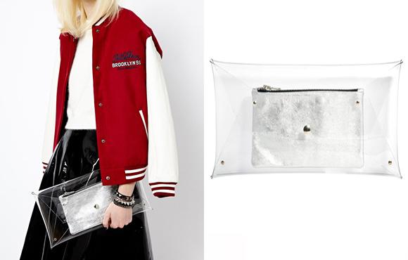 Klear Klutch Large Transparent Clutch Bag