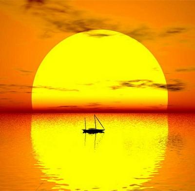 Солнце золотое