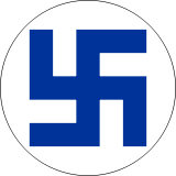 160px-Finland_roundel_WW2_border.svg
