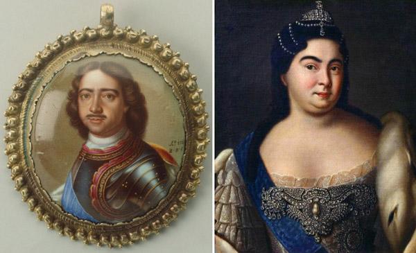 Петр и Екатерина