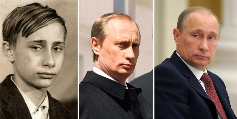 Путин разный