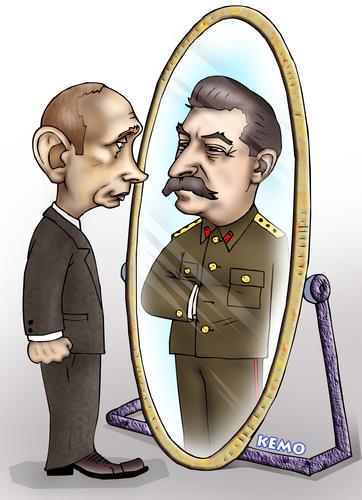 Putin-Stalin