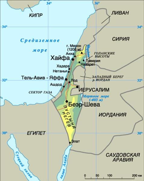 karta-kurortov-israela
