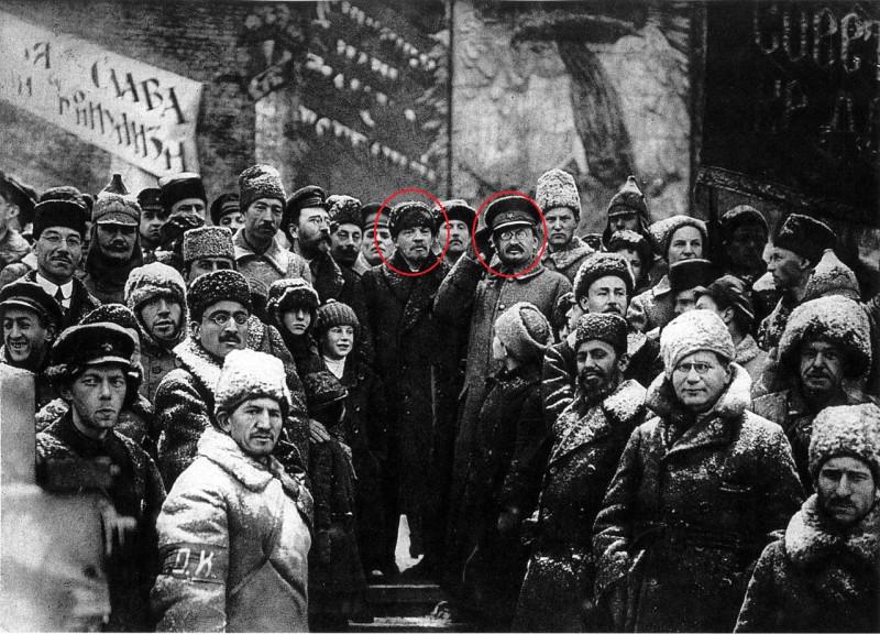 Ленин и Троцкий