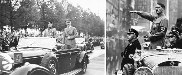 Гитлер на авто