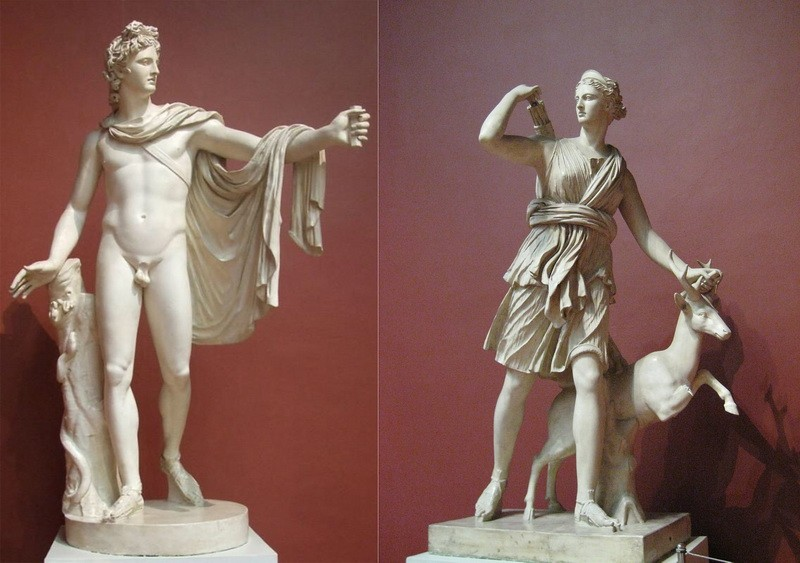 Аполлон и Артемида