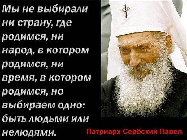 религия-цитаты-патриарх-сербский-павел-296929