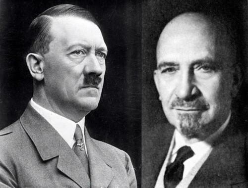 Гитлер и Вейцман